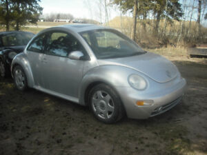 V.W. BEETLES FOR PARTS OR BUY THEM
