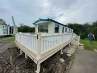 CHEAP CARAVAN FOR SALE IN SKEGNESS WITH DECKING AND FREE PITCH FEES -07395275647