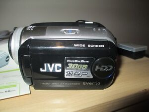Gift JVC camcorder for vacation