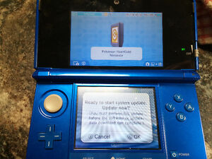 3DS Cobalt Blue - Like New