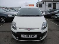 2012 Fiat Punto Evo Hatch 5Dr 1.4 8V 77 SS EU5 GP Petrol white Manual