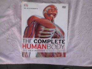 The Complete Human Body, Hard cover-- c/w cd-
