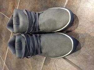 Grey Aldo shoes