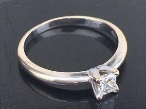 Gorgeous VVS1 Princess Cut Diamond 0.33carat VALUE!!!  Strathcona County Edmonton Area image 5