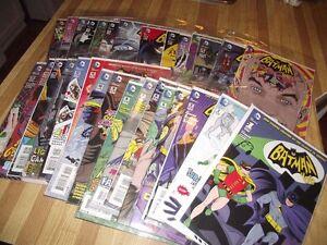Batman 66 - Classic TV Show Comic Books 2013