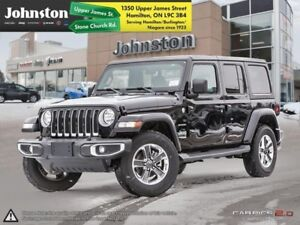 2018 Jeep Wrangler Unlimited Sahara 4x4  - Remote Start - $144.7