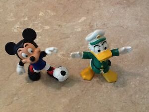 Disney Mickey Mouse & Donald Duck figurines
