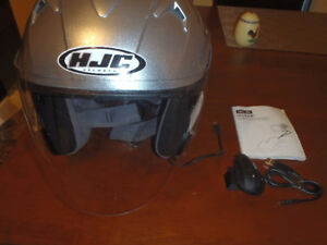 HJC Motorcycle helmet and uclear comms