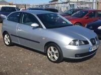 2004/54 Seat Ibiza 1.2 12v SX FULL MOT EXCELLENT RUNNER