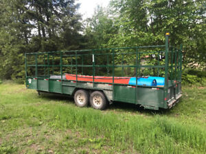 24' Trailer for Sale with Racking
