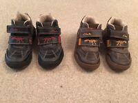 Boys clarks shoes x2