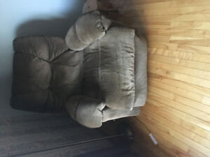 Gently used recliner in a smoke free, pet free home.