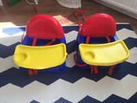 Baby safety high chair/seats