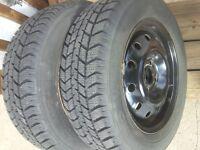 Winter tyres on rims 185/65/R14 suits VW Golf / Jetta / Saturn