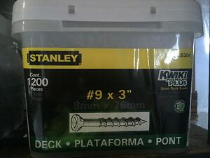 Stanley Deck and Flooring Screws