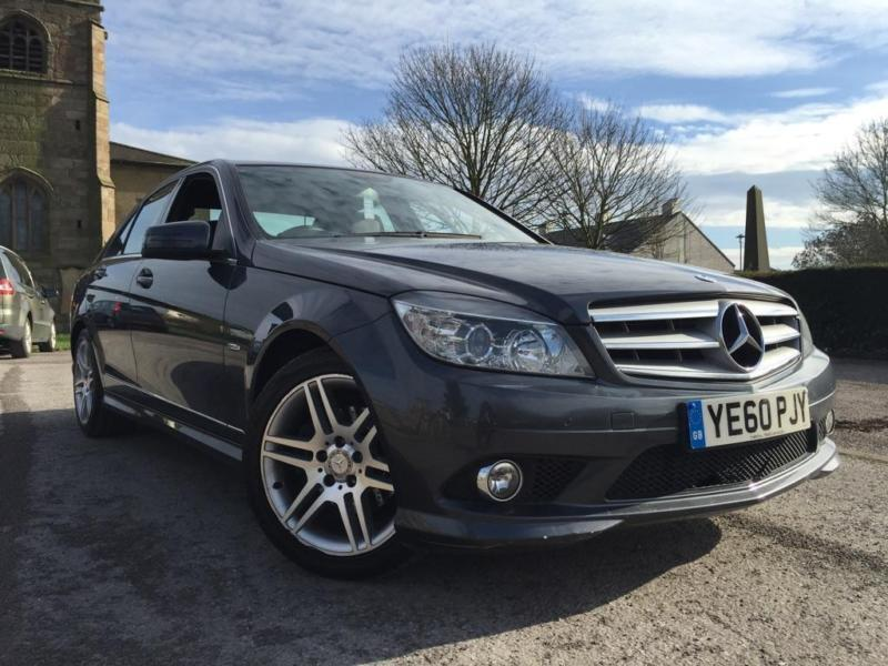 2010 mercedes benz c class 2 1 c220 cdi blueefficiency sport 4dr in stoke on trent. Black Bedroom Furniture Sets. Home Design Ideas