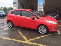 Ford Fiesta titanium, 2012/62, 1.4 diesel, cheap tax, clean car, £6995