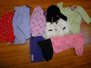 6-12 months girl winter clothes