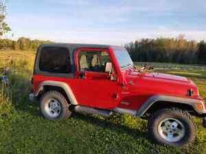 2002 Jeep Wrangler  TJ Sport