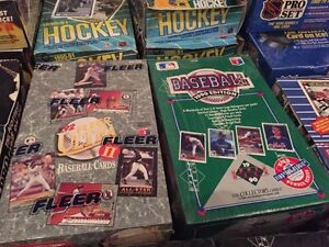 Assorted Sports Card Boxes London Ontario image 3