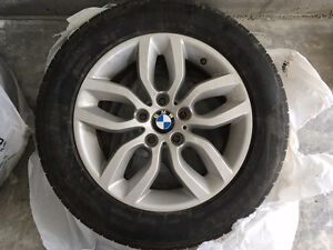 BMW X3 xDrive28i Winter Tire and Rim Package - Full Set