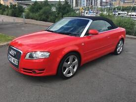 2007 AUDI A4 CABRIOLET T FSI S LINE CONVERTIBLE PETROL
