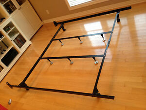 Supermax bed frame Heavy Duty 10 legs Queen-King