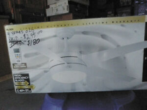 52 INCH CEILING FAN WITH DIGITAL REMOTE $180