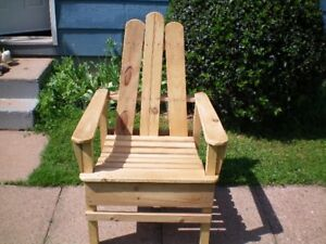 Outside Pine Chair