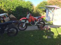 Honda cr125 motocross enduro not rm yz kx