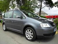 VOLKSWAGEN TOURAN 1.9 TDI 2005 7 SEATER COMPLETE WITH M.O.T HPI CLEAR INC