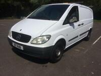 2005 Mercedes-Benz Vito 2.1CDi COMPLETE WITH M.O.T AND WARRANTY