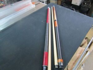 8 BALL POOL CUE'S