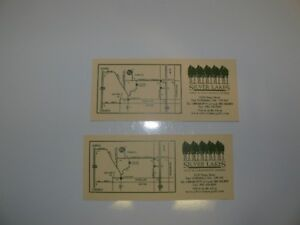 Two Golf Passes With Golf Cart Rental