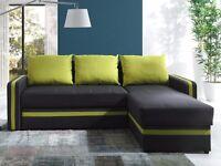 Corner Sofa Bed EUFORIA Lime SALE!