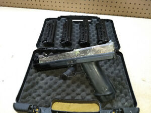 T8 Tiberius Arms Paintball Pistol   Case   4 Magazines