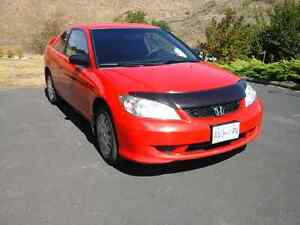 2005 Honda Civic 2Dr Coupe Low K'S
