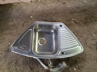 Corner Kitchen Sink For Sale In UK View 102 Bargains