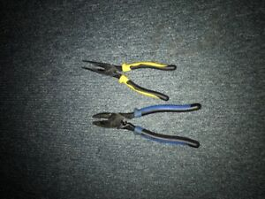 electricial meters and pliers