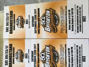 Brighton speedway tickets for this weekend