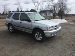 2002 Isuzu Rodeo SUV, Crossover