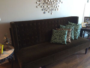 Contemporary 3 piece Sofa, Loveseat, & side chair!!