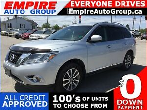 2014 NISSAN PATHFINDER SL * 4WD * LEATHER * NAV * REAR CAM * 7 P