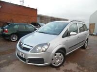 VAUXHALL ZAFIRA LIFE 1.6 PETROL 7 SEATER ONE OWNER