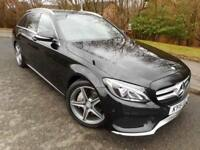 2015 Mercedes C Class C250 Bluetec Amg Line Estate 2.1 130 pd Automatic Diesel