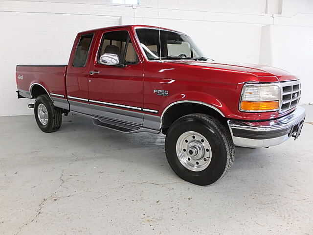 1997 ford f250 4x4 xlt extended cab short bed gas 1995. Black Bedroom Furniture Sets. Home Design Ideas