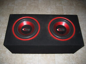 """CHEAP"" -Pair of 10 inch Visonik Subwoofers"