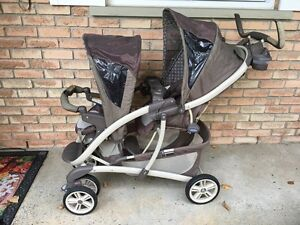 Graco double stroller for sale Cornwall Ontario image 1