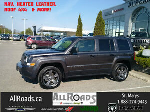 2017 Jeep Patriot North High Altitude 4x4 with Nav only 18000kms London Ontario image 2