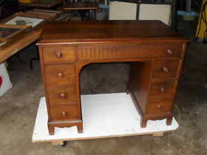 #greenspotantiques Gibbard desk, old tv cabinet, couch and chair